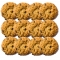 NoxBox of 12 small Oatmeal Raisin Cookies